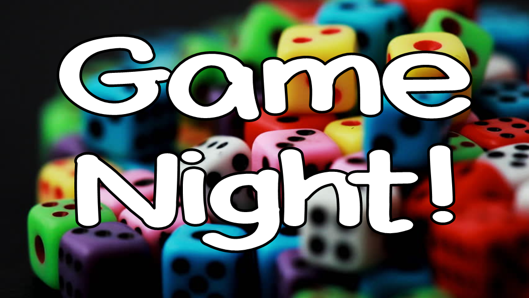 Game Night – April 12 6-8 – Underwood Park and Rec